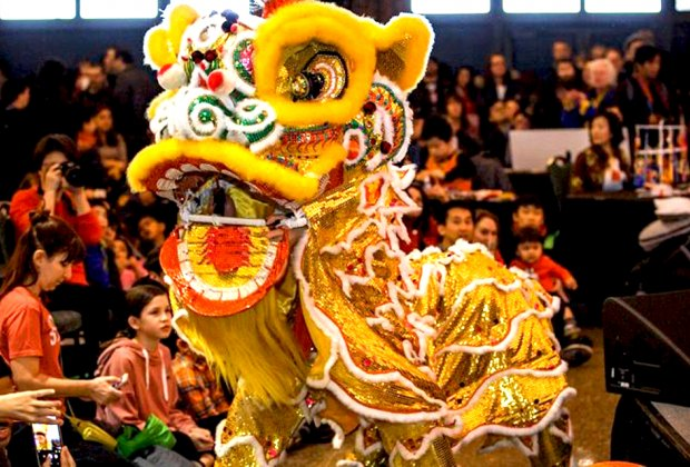 Navy Pier's Chinese New Year Celebration is part of Global Connections, a free community event series. Photo courtesy of Navy Pier