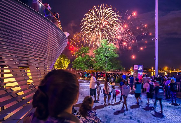 Summer fireworks at Navy Pier start this weekend. Photo courtesy of Navy Pier