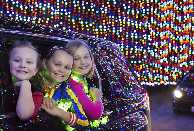 Magic of Lights at Jones Beach is one of Long Island's must-see holiday traditions. Photo courtesy of Magic of Lights