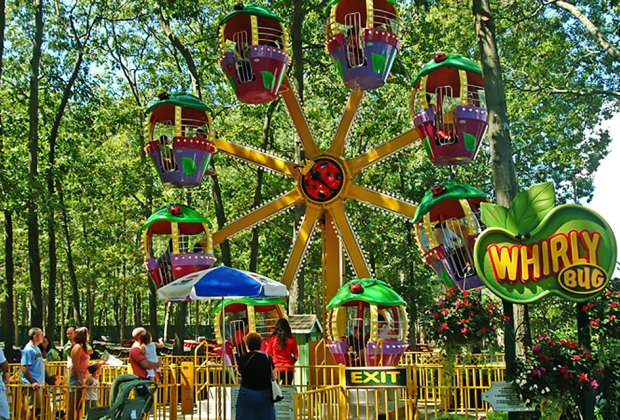 Whirly Bug at Storybook Land. Photo courtesy of the park