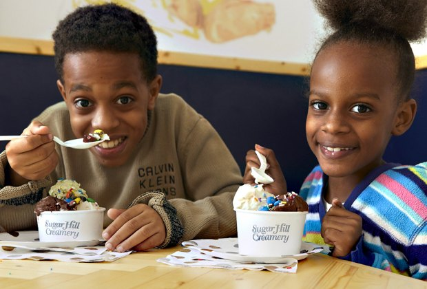 The Sugar Hill Creamery is a neighborhood favorite.  Photo by Evi Abeler Photography