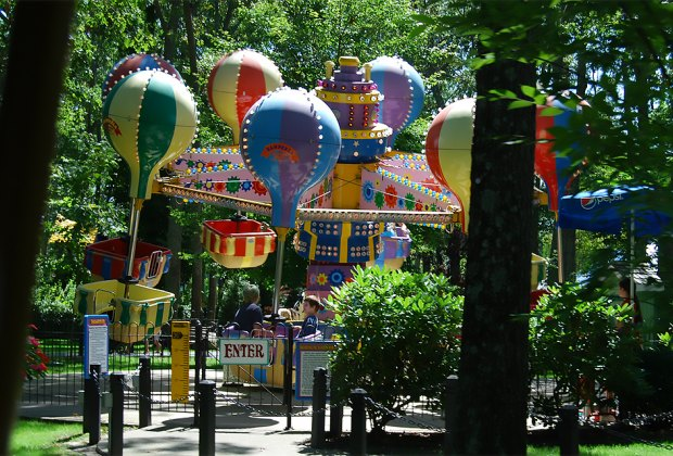 Ride the Balloon Ride at Storybook Land