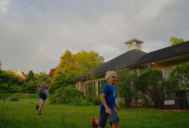Get outside! Photo courtesy of the New Canaan Nature Center