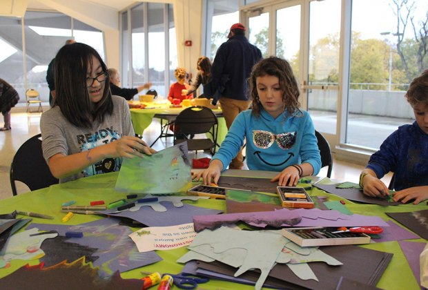 All ages are invited to make Valentine's Day cards or crafts at the State Museum of New Jersey. Photo courtesy of the museum