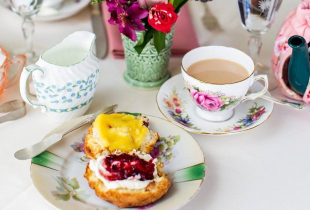Take your pretend tea party to the next level at one of NJ's charming tea houses. Photo courtesy of Teaberry's Tea Room