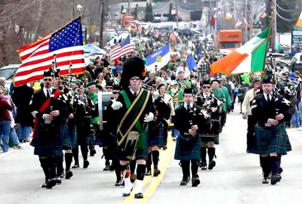 The St. Paddy's celebrations continue with the Northern Westchester-Putnam parade. Photo courtesy of the organizers