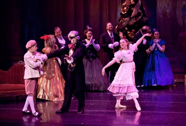 "BAHBT's rendition of ""The Nutcracker.""/Photo courtesy of Bay Area Houston Ballet Theatre."
