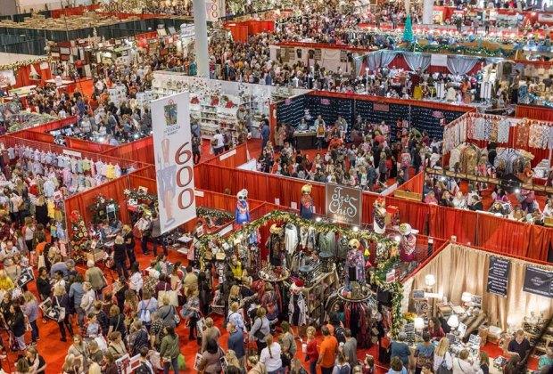 Get ready to shop til you drop at the annual holiday Nutcracker Market./Photo courtesy of The Houston Ballet, Nutcracker Market.