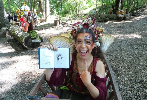 Visit with a fairy at the New York Renaissance Faire in Tuxedo Park. Photo by Susan Miele