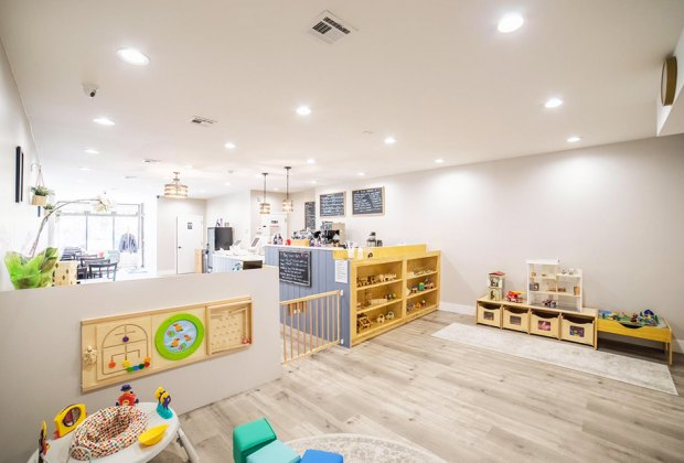 Lidia's Play Cafe offers private rentals