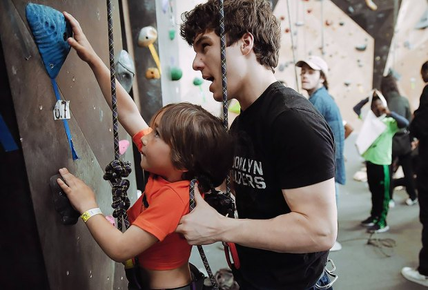 Get your climbing legs ready for Brooklyn Boulders. Photo courtesy fo Brooklyn Boulders