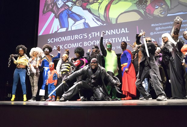 The Schomburg Center for Research in Black Culture hosts the annual black comic book festival. Photo courtesy of the center
