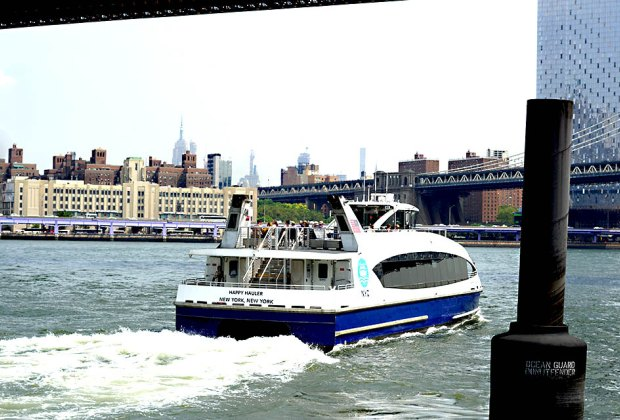 Make different stops along the east side of Manhattan on the NYC ferry. Photo by Jody Mercier