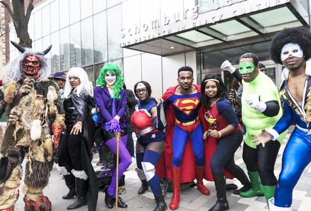 See superheroes in action at the Black Comic Book Festival. Photo courtesy of the festival