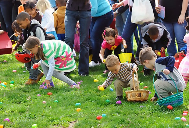 Easter is just a hop, skip and a jump away. Check out the best Easter Egg hunts in NYC. Photo courtesy of Wagner College