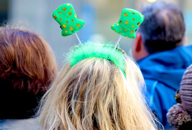 NYC St. Patrick's Day Parade is just one of the many things to do in NYC to celebrate St. Patrick's Day. Photo by Shinya Suzuki via Flickr