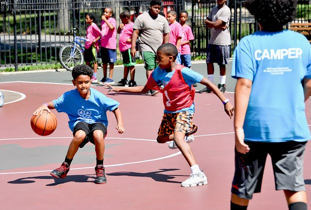 The NYC Parks Department summer camp lottery opens March 1. Photo by Daniel Avila for NYC Parks