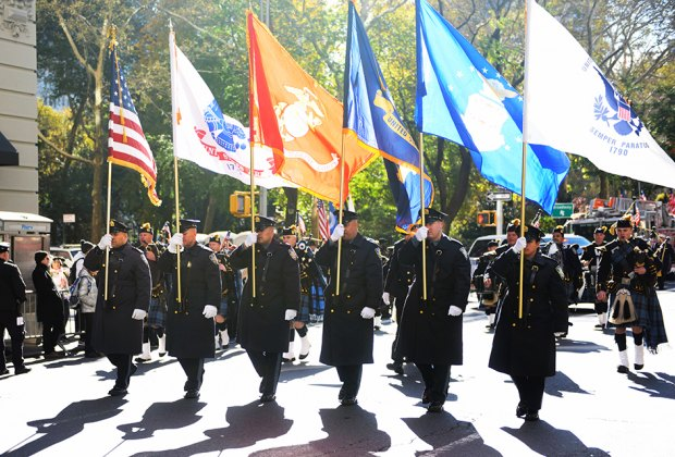 Celebrate those who served at NYC's Veterans' Day Parade. Photo by simplydusty via Flickr