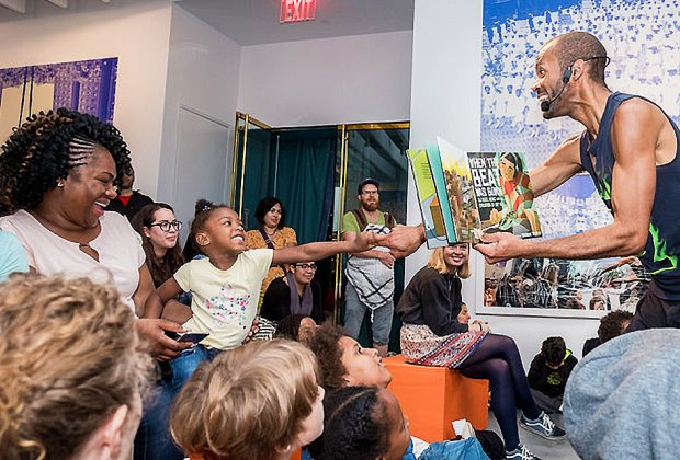 Be a part of the story every Saturday at Sugar Hill Museum with dancer and actor Alexander Elisa. Photo courtesy of Sugar Hill Museum