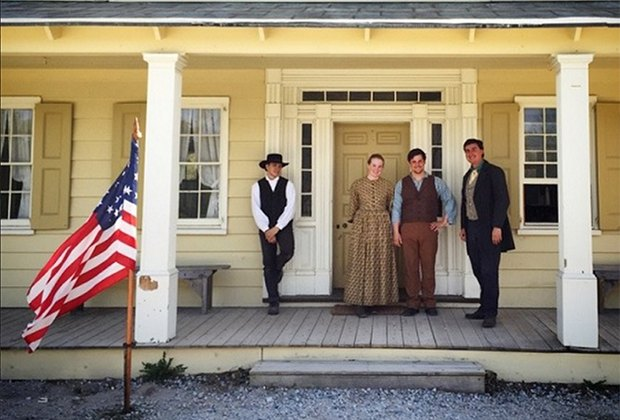 Kids can experience 19th-century village life at Old Bethpage Village Restoration. Photo by  Kenny Arena/courtesy of the museum
