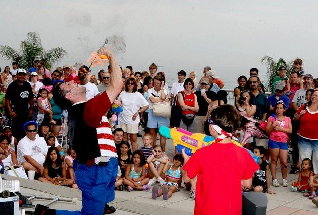 Celebrate the 4th of July at the Jersey Shore's Oceanfest. Photo courtesy of Oceanfest