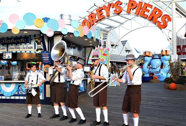 Morey's Piers brings Oktoberfest to the Wildwoods Boardwalk. Photo courtesy of Morey's Piers