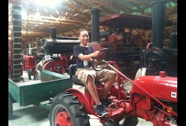 We loved the old tractors! CAMA
