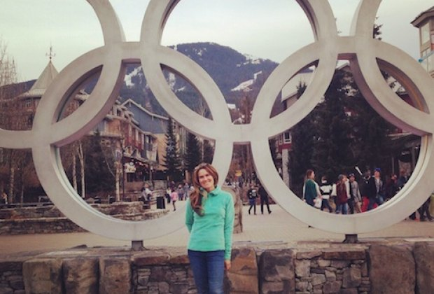 Olympic Plaza in Whistler