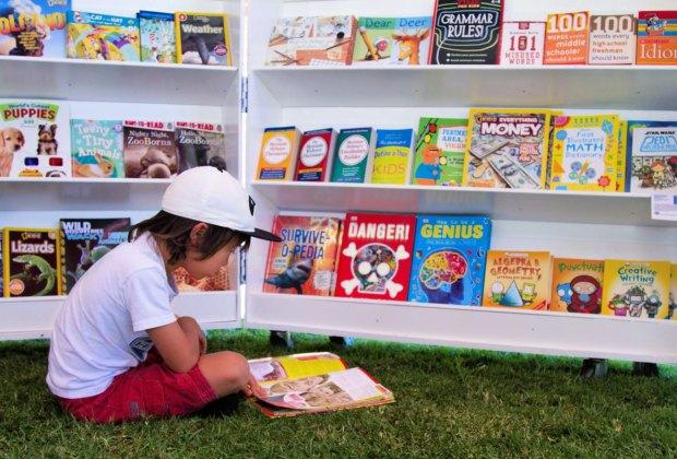 Photo courtesy of Orange County Children's Book Festival