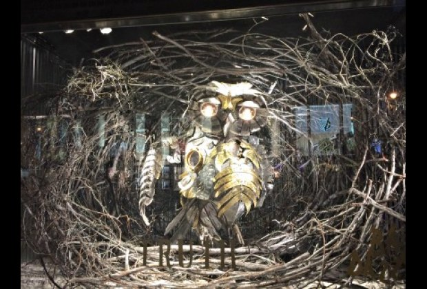 Hollywood director Baz Luhrmann collaborated on Barneys over-the-top windows