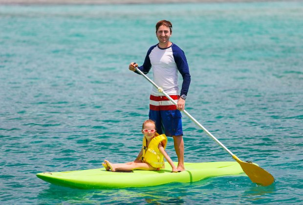 Take a paddleboard lesson. Photo via Bigstock