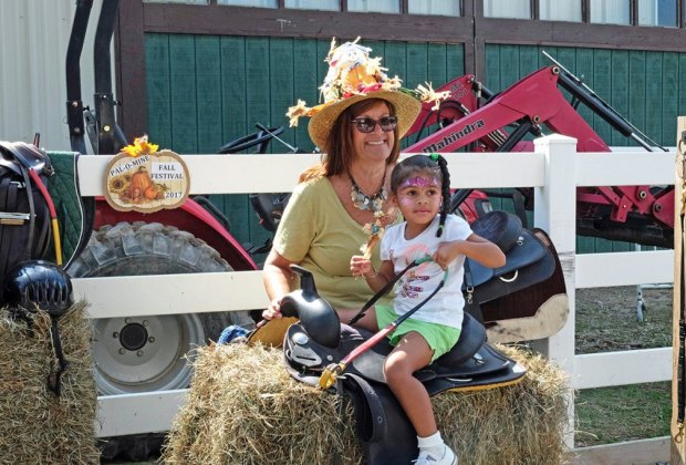 Enjoy musical saddles, face painting, and plenty more at  Pal-O-Mine's Fall Festival   Photo courtesy of the festival
