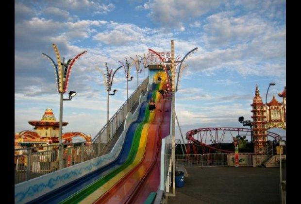 Coney Island style fun at Palace Playland.