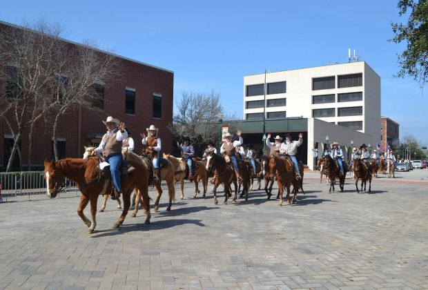 Kick off rodeo season early with Conroe's annual Go Texan Parade./Photo courtesy of Conroe/Lake Conroe Chamber of Commerce.