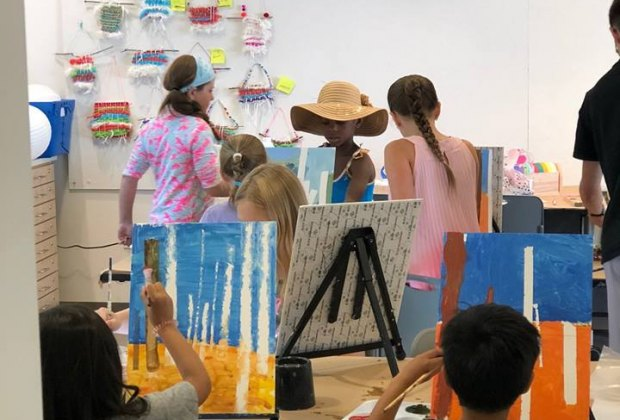 Channel your child's inner artist at  Studio Saturdays at the Nassau County Museum of Art. Photo courtesy of the museum