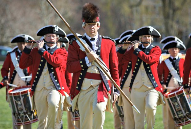 U. S. Army Old Guard Fife and Drum at Lexington Green. Photo by SFC Richard Ruddle/Flickr