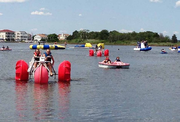 Where To Rent Paddleboats and Rowboats in New Jersey