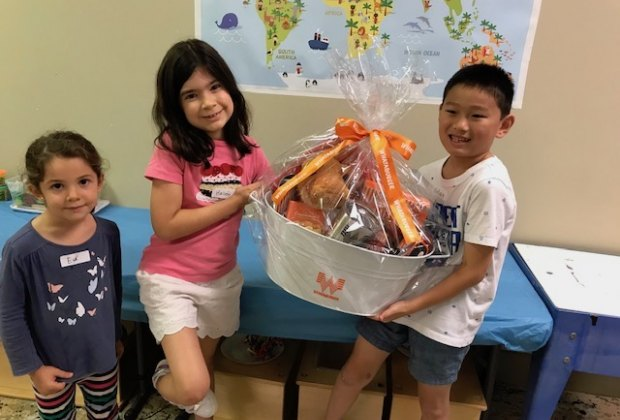 Donate your pennies to the Million Penny Challenge and be entered for a chance to win free Whataburger for an entire year! Photo courtesy of The Woodlands Children's Museum.
