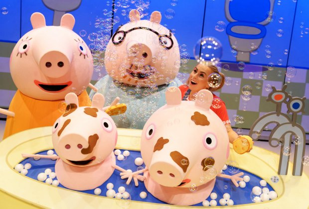 Peppa Pig Live! will make young fans squeal with delight. Photo courtesy of the production