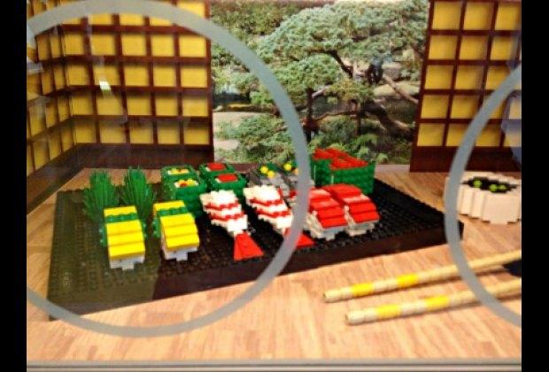 Don't eat the Lego sushi!
