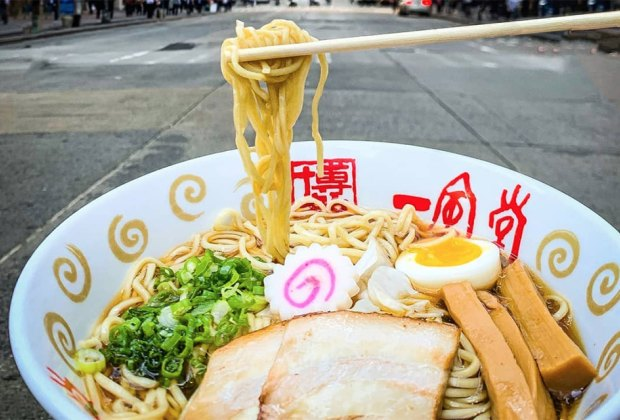 Dig into a noodle bowl at Ippudo. Photo courtesy of the restaurant