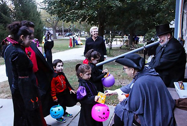 Go trick-or-treating at Physick Estate in Cape May. Photo courtesy of the Mid-Atlantic Center for the Arts and Humanities