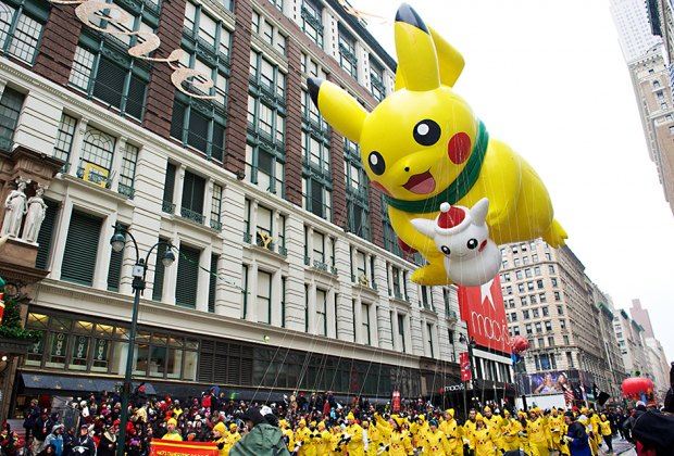 PIKACHU™ by The Pokémon Company International. Photo by Kent Miller Studios for Macy's Inc.