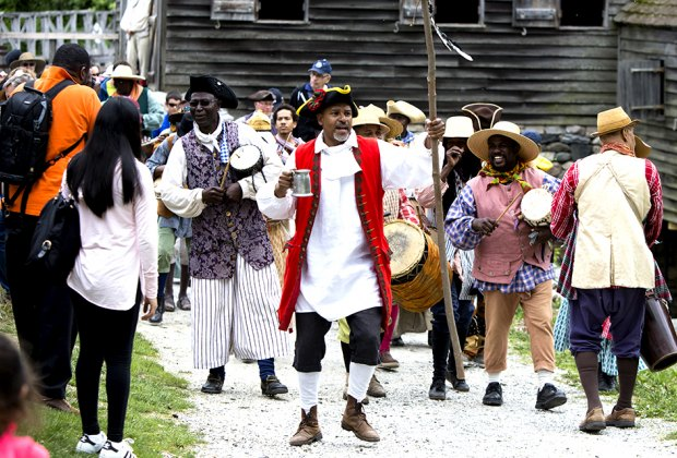 Take part in the African American celebration of Pinkster in Sleepy Hollow. Photo courtesy of Historic Hudson Valley