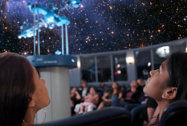 The Newark Museum's planetarium is perfect for a young child's first foray into astronomy.