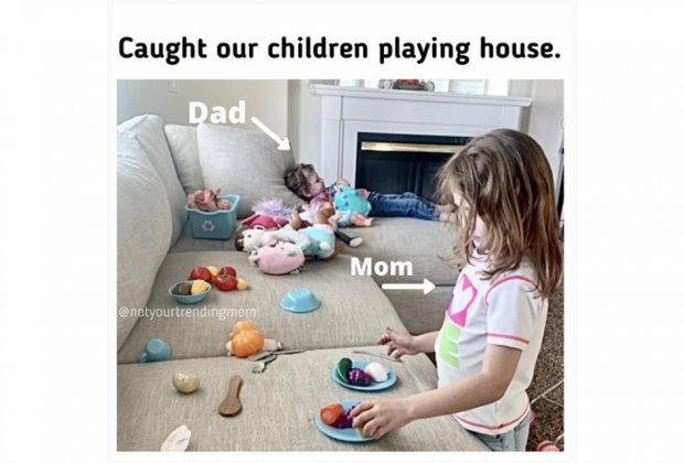 playing house meme
