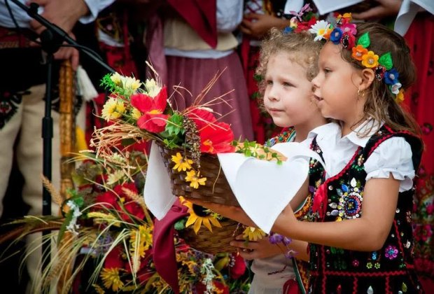 Families can indulge in Polish culture all weekend long during the Polish Harvest Festival. Photo courtesy of Polish Harvest Festival.