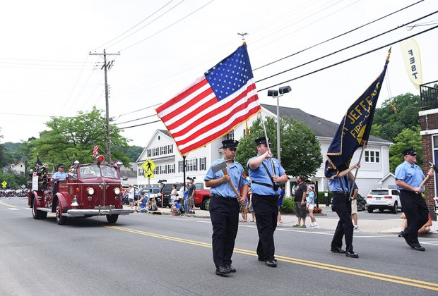 Thrill to Port Jefferson's annual Fourth of July parade through the downtown. Photo courtesy of the Port Jefferson Chamber of Commerce