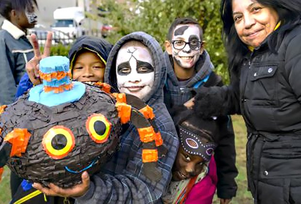 Join Rockaway Waterfront Alliance for the 6th Annual Hip Hop Halloween. Photo courtesy of the alliance