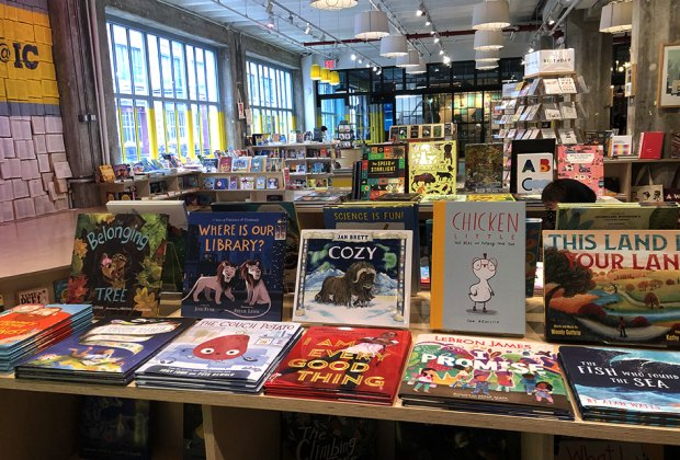 Powerhouse@Industry City has a well-stocked selection of children's books